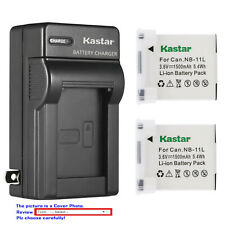 Kastar Battery Wall Charger for Canon NB-11L NB-11LH & Canon IXUS 180 IXUS 185