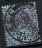 GB QV 1887-92 SG#201, 2.5d Purple/Blue London EC CDS Postmark #D14626