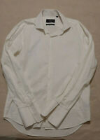 Peter Jackson Melbourne Tailored shirt  white 2 ply 100% Egyptian cotton
