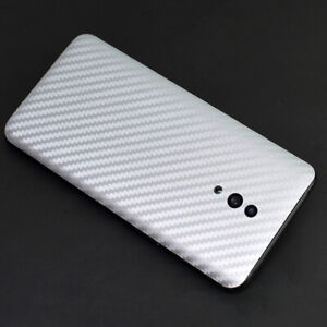 Back Cover Carbon Fiber Protective Film Screen Protector For OnePlus LG Meizu