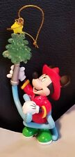 Disney Enesco Mickey Mouse Fireman Tree-rific Treasures Christmas Tree Ornament