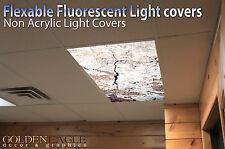Flexible Fluorescent Light Cover Films Skylight Ceiling Office Medical Dental 30