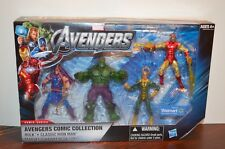 2011 HABRO Marvel The Avengers Comic Collection Action FIgure Box Set HULK LOKI