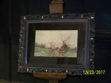 Attr. Morgan Colt American Listed Impressionist Original Oil Landscape Painting