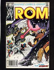 Marvel Comics Group Rom #18 ~ Hybrid/ X-men Cover (6.0) Wh