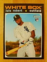 2020 Topps Heritage High Number SSP Missing Signature Variation Luis Robert #512