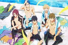 """12"""" x 18"""" Free! - Eternal Summer Iwatobi Swim Club Poster"""