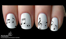 Music note Nail Art Sticker Water Transfer Decal wrap Tattoo 22