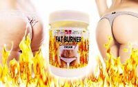 HOT BURN FAT BURNER ANTI-CELLULITE SLIMMING CREAM LOSE WEIGHT 200ml.