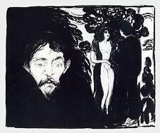 Edvard Munch Prints: Jealousy - Fine Art Print