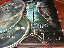 Harry Potter e i Doni della Morte SteelBook  Box 3 Blu Ray ..... Ex