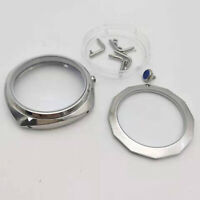 Stainless Steel Hand-Winding Polished Watch Case for ETA 6497/6498 Movement