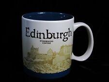 Starbucks Edinburgh Mug Scotland Icon Firth of Fourth Castle Coffee Cup Blue New
