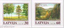 1999 Letland 496-497 Europa CEPT Nationale parken