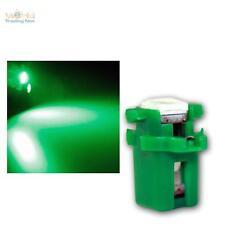 10x SMD 3Chip LED B8.3D BAX10s T5 verde Amaturenbeleuchtung Ambiente interno