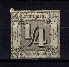 Briefmarken Altdeutschland Thurn und Taxis 35 PF ?? (*) Fleck unter m von Freima
