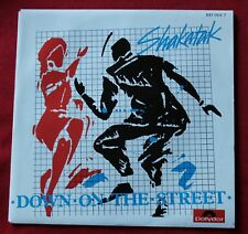 Shakatak, down on the street / holding on, SP - 45 tours
