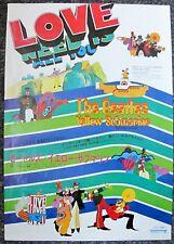 The Beatles  Yellow Submarie Original 1968 B3 Japanese Film Cinema Movie Poster
