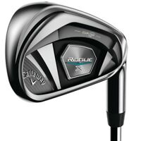 New 2020 Callaway Rogue X Irons - XP 95 Steel Shafts- 5-PW+AW - Choose Your Flex