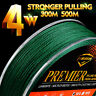 PE Braided Fishing Line 300M 500M Japan 4 Weaves Super Strong Multifilament Line