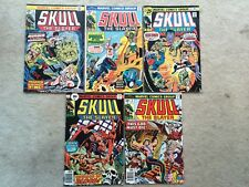 Skull The Slayer #3, 4 ,5 7 & 8 *Gil Kane!*