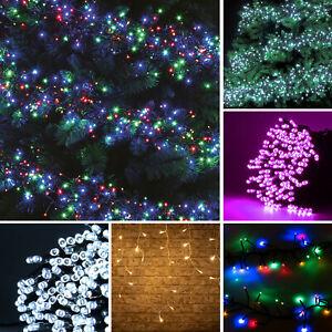 Bright LED Chaser Lights 8 Mode Christmas Lights Indoor Outdoor Xmas Tree Light