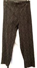 plus sz XL/24 TS TAKING SHAPE Hunter stretch Jean charcoal/black print pants NWT