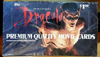 1992 TOPPS PREMIUM BRAM STOKER'S DRACULA *36 PACK* SEALED BOX *WOW*