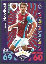 TOPPS MATCH ATTAX 2016-17- #351-WEST HAM UNITED-HAVARD NORDTVEIT