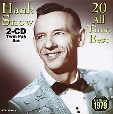 Hank Snow - 20 All Time Best [New CD]