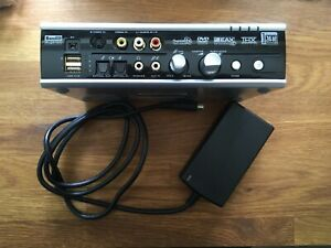 USB Creative Labs SB Audigy 2 ZS Video Editor SBO480 and power supply PSU