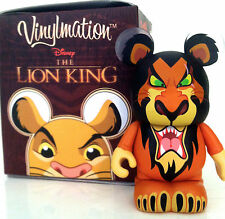 "DISNEY VINYLMATION 3"" THE LION KING SCAR SIMBA'S UNCLE MUFASA'S BROTHER VILLAINS"