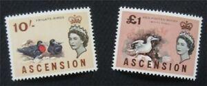 nystamps British Ascension Stamp # 87.88 MOGH  O22x1716
