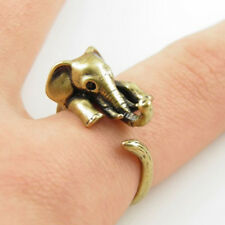 Animal Fashion Cute Women Ring, Elephant Silver Plated Ring Elephant Ring