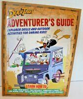 Disney DuckTales Adventurer's Guide Book Kids Explorer Skills Outdoor Activities