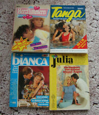 8 x Liebesroman in 4 Heften Cora Roman Bravo Herzklopfen Tanga Bianca Julia