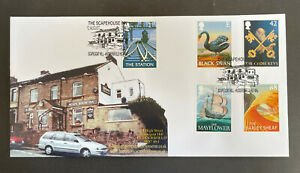 Rare 2003 Pub Signs R C Productions Scapehouse Inn Official FDC