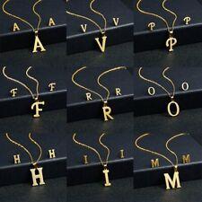 Stainless Steel Women Gold Jewelry Set Charm Pendant Earrings Necklace Jewelry
