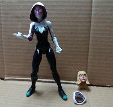 figura spider gwen marvel legends spiderman cabezas intercambiables Gwen Stacy