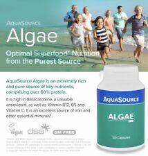 NEW - AQUASOURCE ALGAE 120 Caps ,Klamath AFA blue-green algae