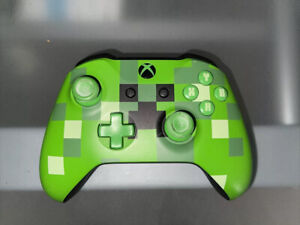 Minecraft - Green Creeper Special Edition Controller (Microsoft Xbox One)