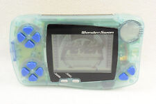 Wonder Swan DIGIMON ADVENTURE Anode Tamer Console SW-001 BLUE Tested Japan 0320
