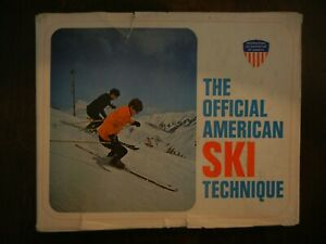 P.S.I.A.The Official American Ski Technique vin'tg instruction book 1970 Cowles