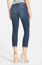 NWT JOE'S Mid-Rise Skinny Rolled Cuffed Crop Jeans in Mary Kate Size 29 JOES NEW