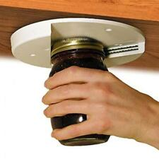 Jar Opener for Under the Kitchen Cabinet Counter Bag Bottle Arthritis Screw Cap