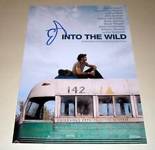 "INTO THE WILD PP SIGNED 12""X8"" POSTER EMILE HIRSCH"