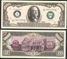 GROVER CLEVELAND 22nd PRESIDENT DOLLAR -Lot of 10 bills