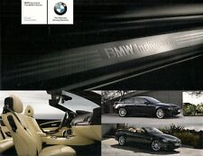 BMW 6-Series Individual Colour & Trim 2008 UK Market Foldout Brochure