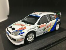 Altaya / IXO 1:43 Ford Focus RS WRC 04  M. Martin - Rally Monte Carlo 2004