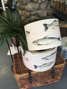 HANDMADE LAMPSHADE CLARKE AND CLARKE 'FISH'